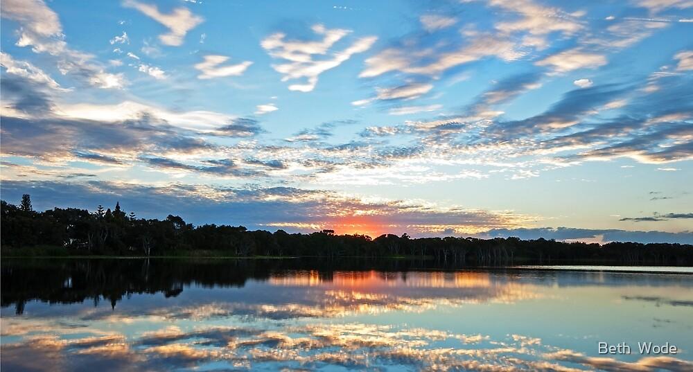 Lake Ainsworth - NSW Australia by Beth  Wode