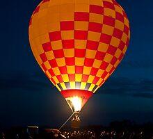 Balloon Glow - Valkaria Air Fest 2010 by Per Hansen