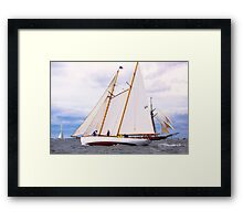 Maritime Speedster Framed Print