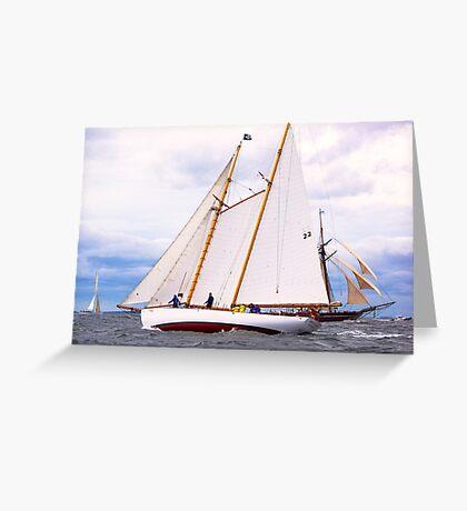Maritime Speedster Greeting Card