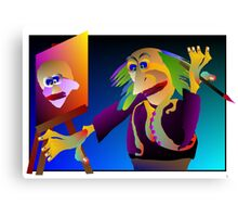artist genius Canvas Print