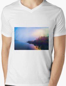 Morning Impression Mens V-Neck T-Shirt
