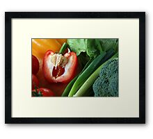 Colour Therapy Framed Print