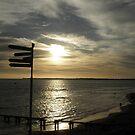 Sunset Beach Queenscliffe by judygal
