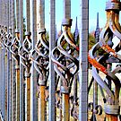 Rusty Fence  ^ by ctheworld