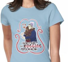 HUGGING person... Womens Fitted T-Shirt