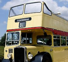 Vintage open top Bristol KSW by buttonpresser