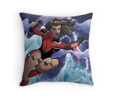 Britannia vs WaterDemon Throw Pillow