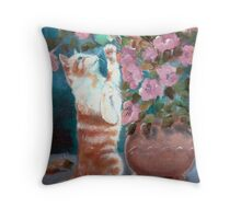 Catch Me if You Can.. Throw Pillow