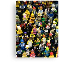 Lego Parade Canvas Print