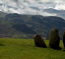 Castlerigg Stone Circle Lake District by David Boardman