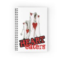 Heart Eaters from Nevermore Alice Spiral Notebook