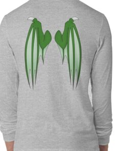 Dragon wings - green Long Sleeve T-Shirt