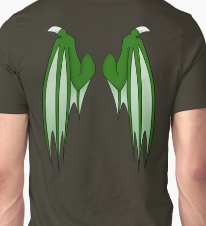 Dragon wings - green Unisex T-Shirt