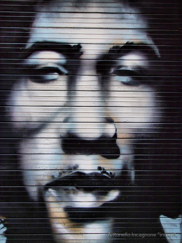 "jimi on the wall by Antonello Incagnone ""incant"""