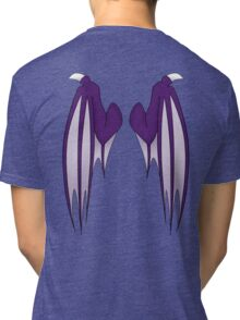 Dragon wings - purple Tri-blend T-Shirt