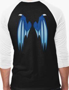 Dragon wings - blue Men's Baseball ¾ T-Shirt