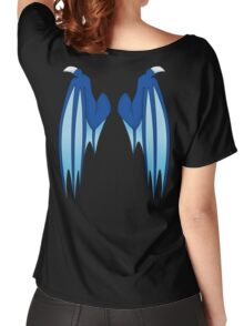 Dragon wings - blue Women's Relaxed Fit T-Shirt