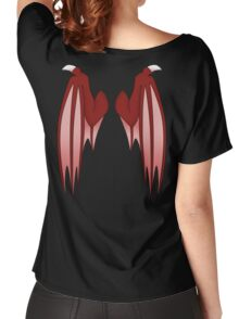 Dragon wings - red Women's Relaxed Fit T-Shirt