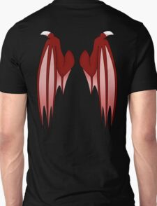 Dragon wings - red Unisex T-Shirt