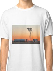 Oakey Sunset 2 Qld Australia Classic T-Shirt