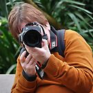 Photoshooters - me shooting you shooting me... by Marjolein Katsma