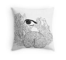 ninth sense - aziums (cintrifugal fields -the higher Consciousness) Throw Pillow
