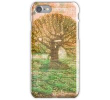 Tree of Life - green sea - earth colours iPhone Case/Skin