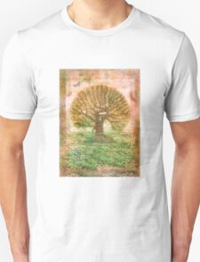 Tree of Life - green sea - earth colours T-Shirt
