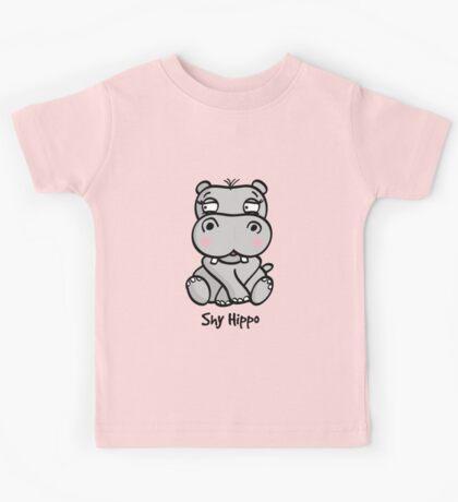 Shy Hippo Kids Tee