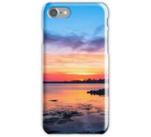 Mid April Sunset iPhone Case/Skin