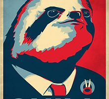 Vote Sloth by Gamma-Ray