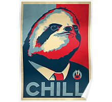 Vote Sloth Poster