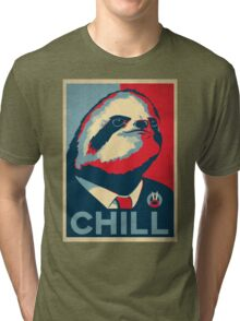 Vote Sloth Tri-blend T-Shirt