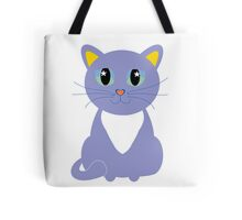 Only Lonely and Blue Cat Tote Bag