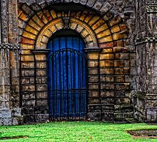 Gated Door by Karen  Betts