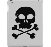 Skull & Cross Bones by Chillee Wilson iPad Case/Skin