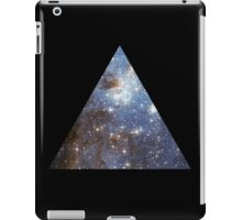 Blue Galaxy Triangle iPad Case/Skin