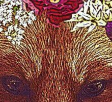 Fox girl Sticker