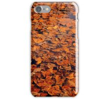 Drowned autumn iPhone Case/Skin