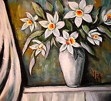 Daffodills for Kaitie Lady by Pamela Plante