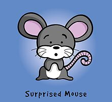 Surprised Mouse by SpriteIdeas