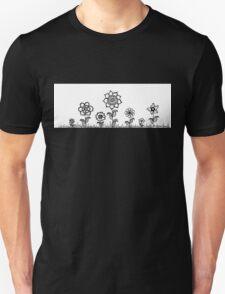 Flower field Zentangle Unisex T-Shirt