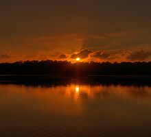 On Golden Pond - Narrabeen Lakes - Sydney - The HDR Experience by Philip Johnson