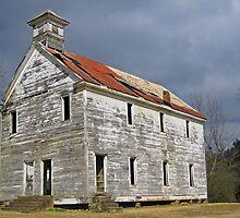 Old School at Hopper Arkansas by Richard Lawry