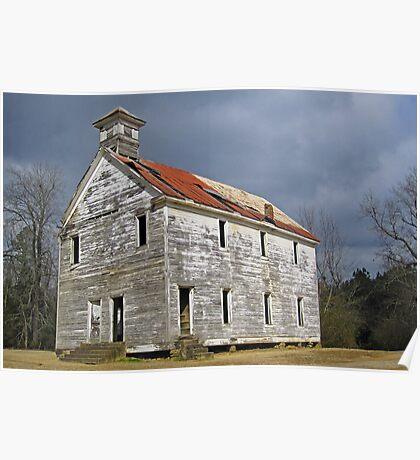 Old School at Hopper Arkansas Poster