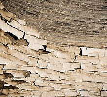 Textured monochrome peelings by Susana Weber
