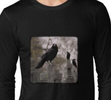 Cemetery Crows Long Sleeve T-Shirt