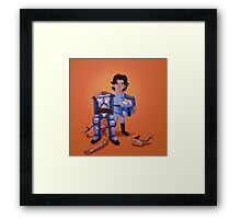 Father's Day - Jango and Boba Framed Print