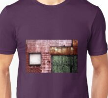 Old building facade, Richmond Unisex T-Shirt